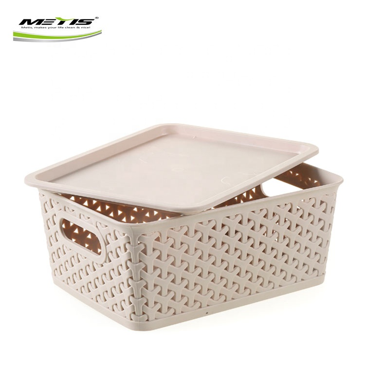 Household Children Toys Large Durable Plastic Storage Box With Handle
