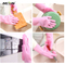Kitchen silicone dish washing gloves to wash dishes