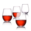 Reusable Champagne Drinking Glasses Use BPA Free Unbreakable Tritan 100% Plastic Durable Party Drinking Cups