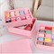 Wholesale new design plastic socks separate storage box use for home