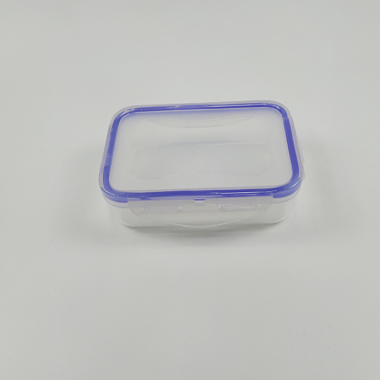 Durable Fresh Crisper Rectangular Plastic Food Container With Lid
