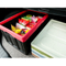 2019 new eco household foldable plastic collapsible storage box with lid