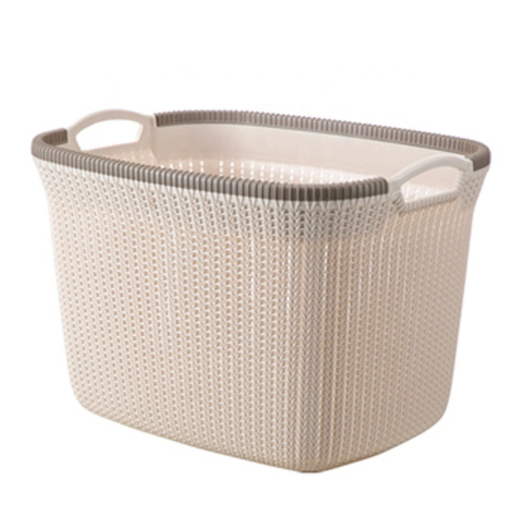 Hot Sale Europe Style 2019 Handled House Laundry storage basket