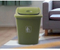 T002-4 garbage bin plastic trash can waste trolley bin with lid for Outdoor use