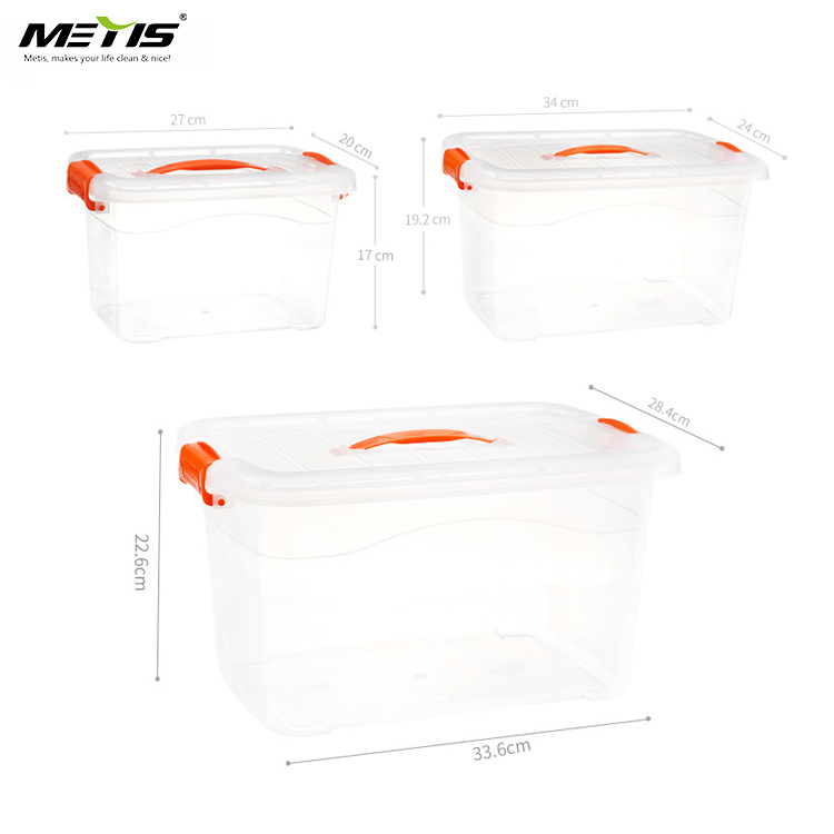 METIS high quality square home storage box sets