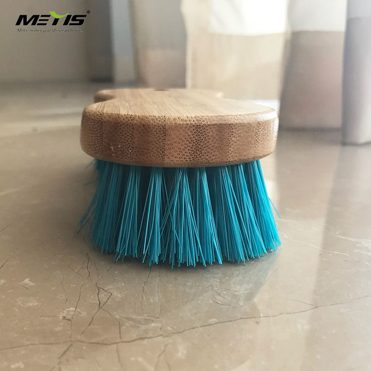 Chinese factory wholesale price wooden handle plastic brush laundry brush