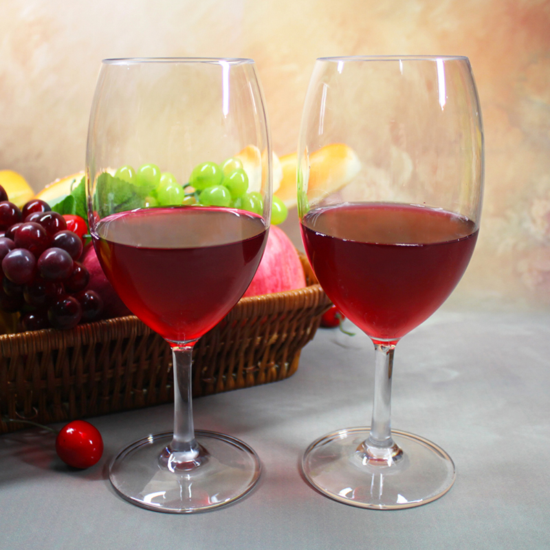 Unbreakable Cabernet and Merlot Bordeaux Red Wine Glasses Dishwasher Safe Unbreakable Tritan Plastic Red Wine Glasses