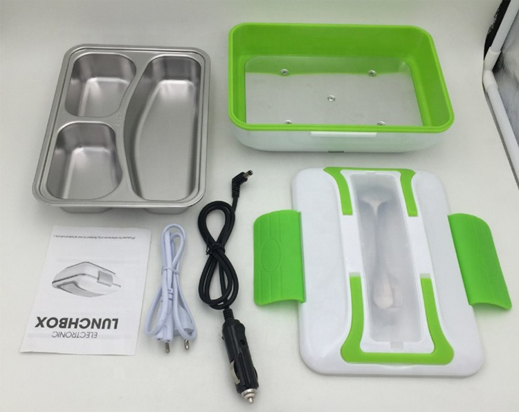 Factory Selling New Design Multifunctional Plastic Electric Lunch Box