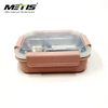 Metis A6073 Easy Open Amazon Hot-Selling Bento Lunch Box New 5 Compartment Food Container
