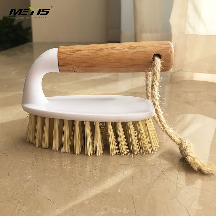 Wholesale Bamboo Classical Cheap Handle Cleaning Carpet and Cloth Brush