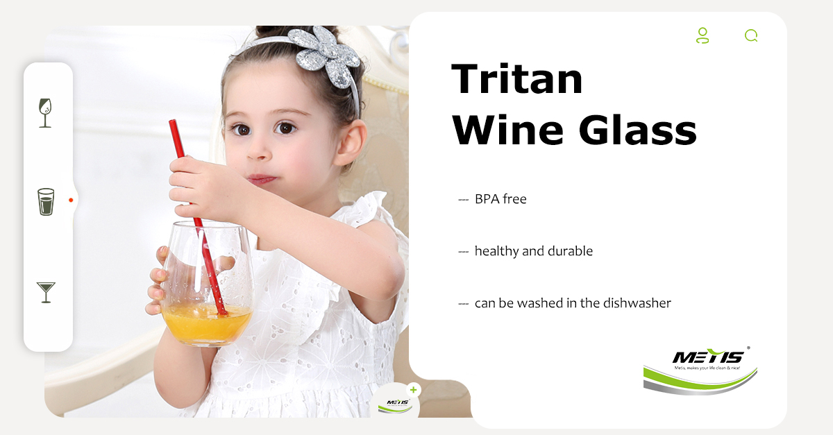 PlastIc Tritan Wine Glass