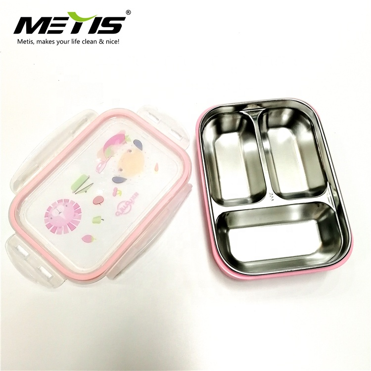 METIS huge capacity stainless steel metal storage food container