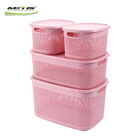 Funny 7029-4 Practical Baskets Kitchen Fruit Outdoor Plastic Storage Box