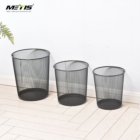 Amazon Trash Can Mesh Wastebasket Home Hotel Kitchen Trash Bin