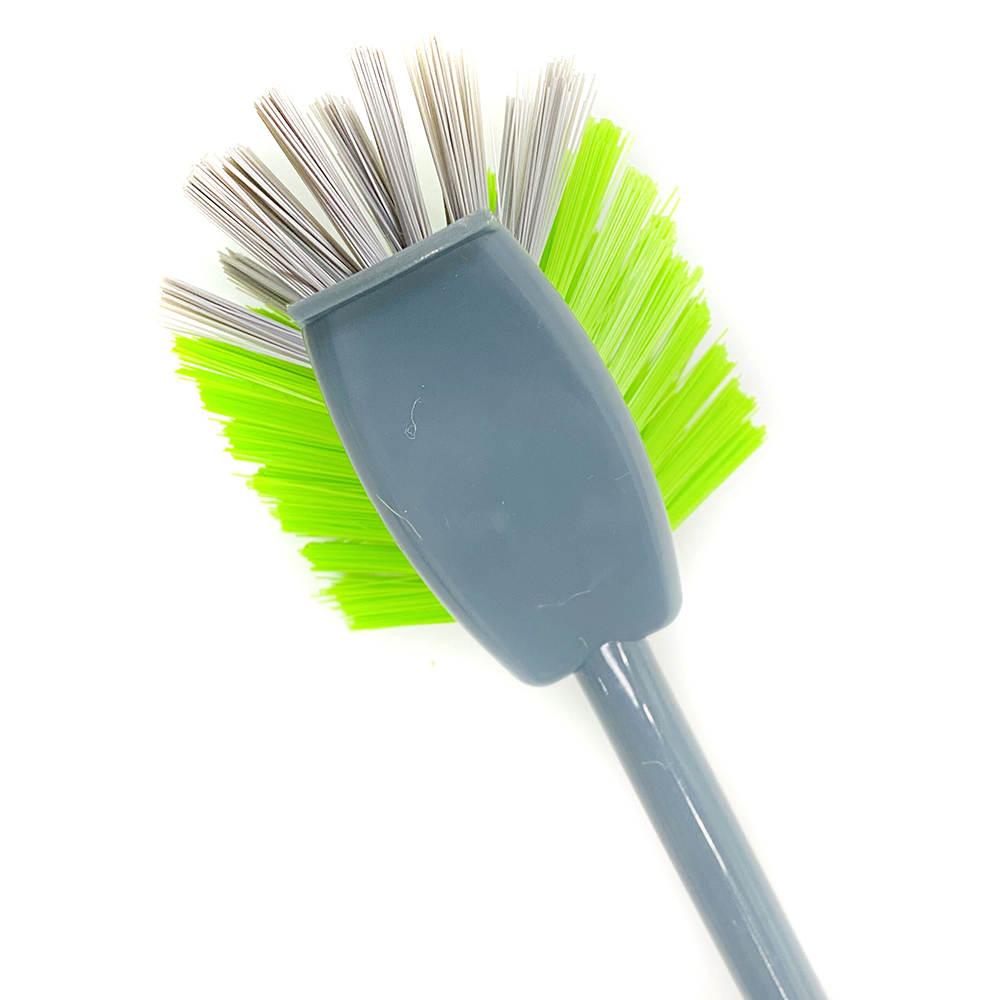 Soft Bristles durable material toilet brush cleaning with TPR handle