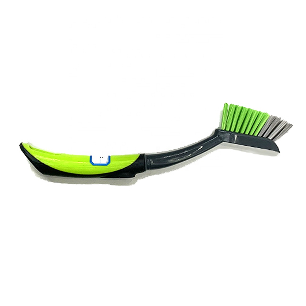 Plastic kitchen dish wash brush, kitchen cleaning brush with different handle material