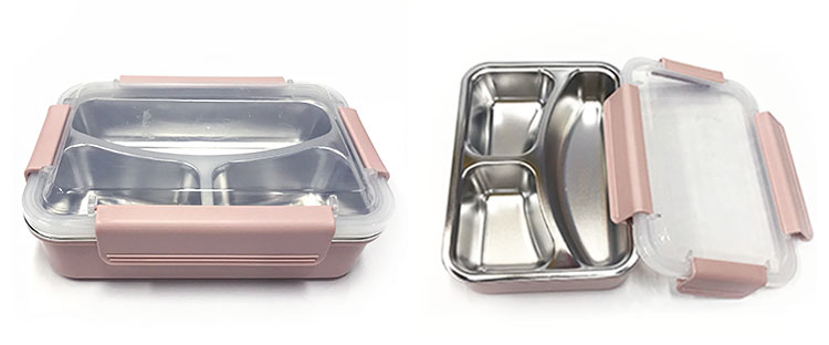 Superior Quality Stainless Steel Kids Bento Lunch Box
