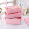 Multifunctional plastic underwear and socks storage box use for home with 12 points