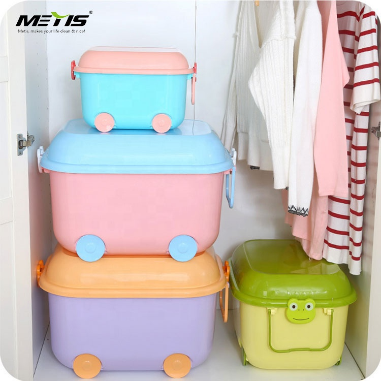 The factory sells cartoon children's toy storage box directly Designed for children