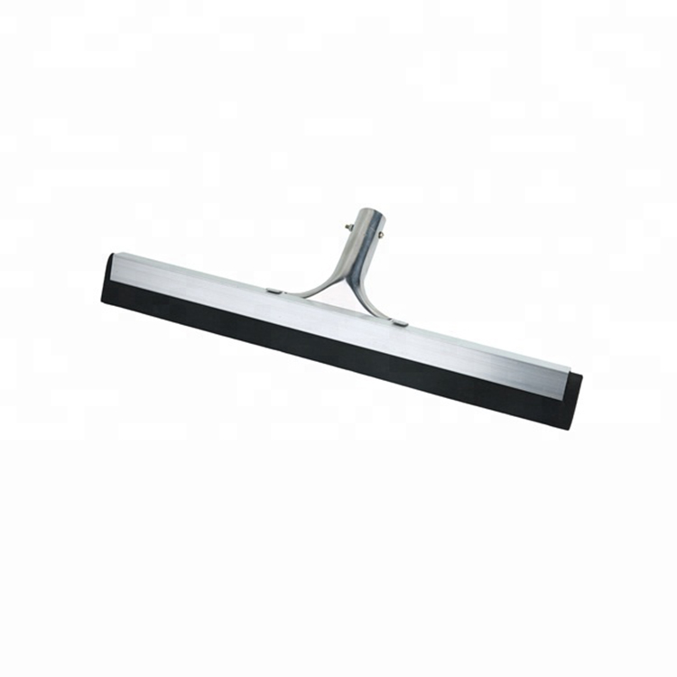 075-T Aluminum Standard Duty Metal Floor Squeegee With Telescopic Handle Perfect for Wood Tile Marble Concrete Glass