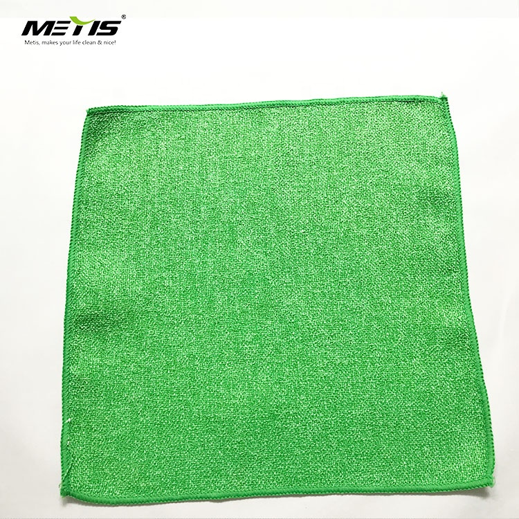 cheap household scrub cloth A1009 kitchen pot dish clean PP hard wire microfiber cleaning cloth