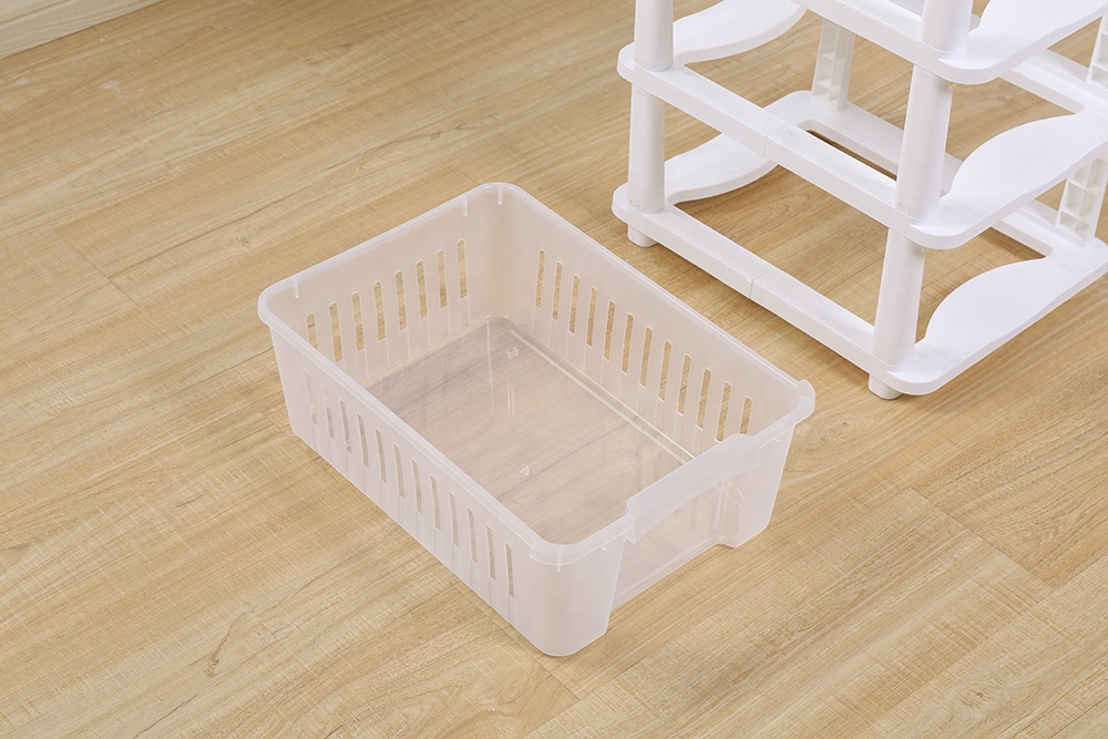Transparent hollow out Sturdy durable Plastic drawer storage box