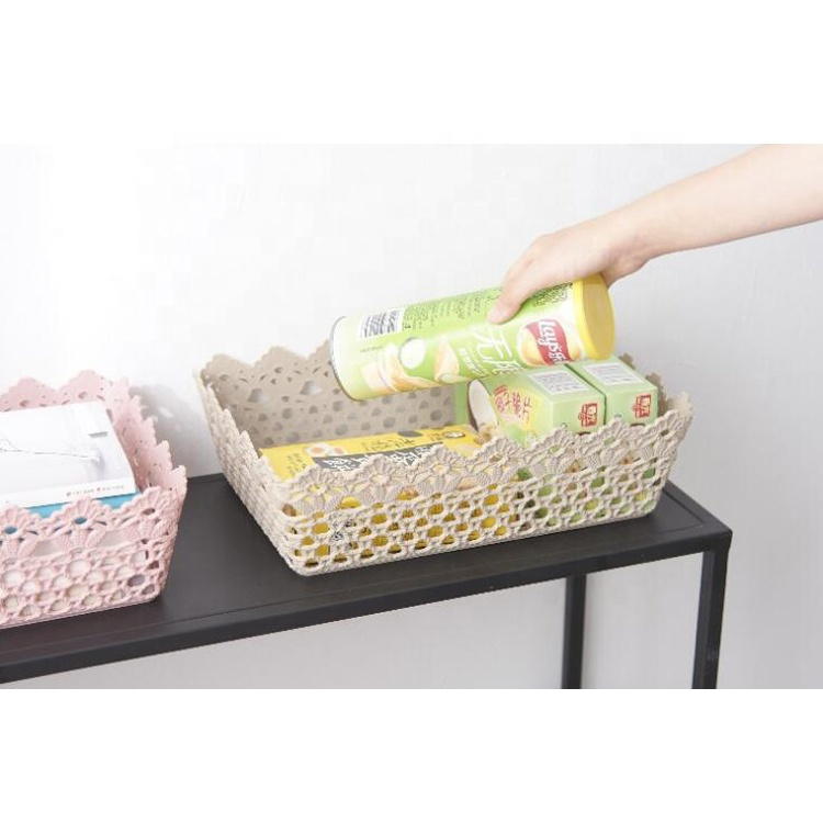 Eco-friendly Good Quality Plastic Home Usage Storage Basket