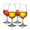 100% Tritan BPA Free High Quality Plastic Goblet Colored Red Wine Glass