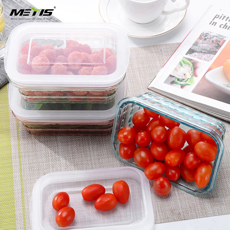 Factory direct sales welcome food preservation clear transparent lunch box