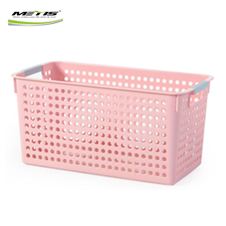 Wholesale bathroom heavy duty storage basket plastic or mini shopping baskets for storage