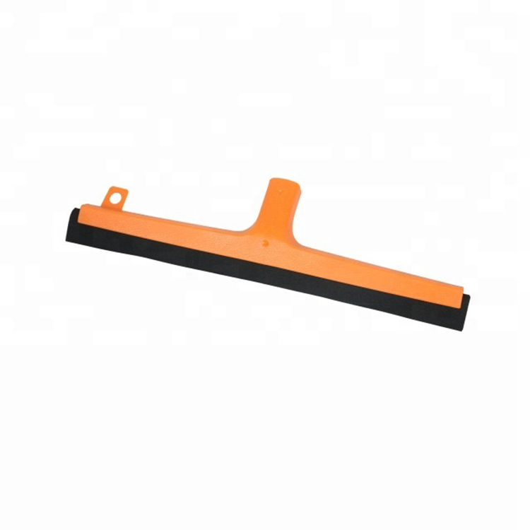 Hot sale yellow or white rubber foam floor bathroom shower squeegee All Household Factory 530-T