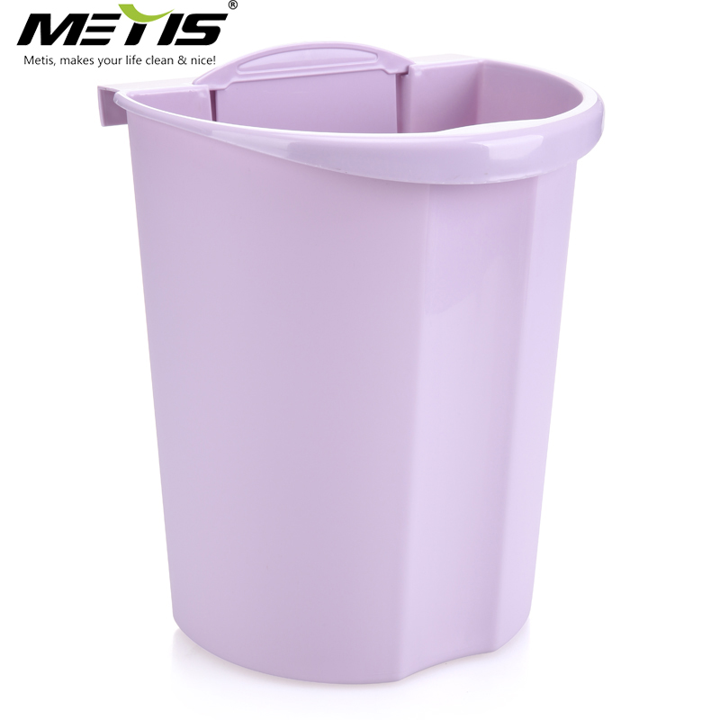 High quality wall mounted kitchen garbage bin plastic